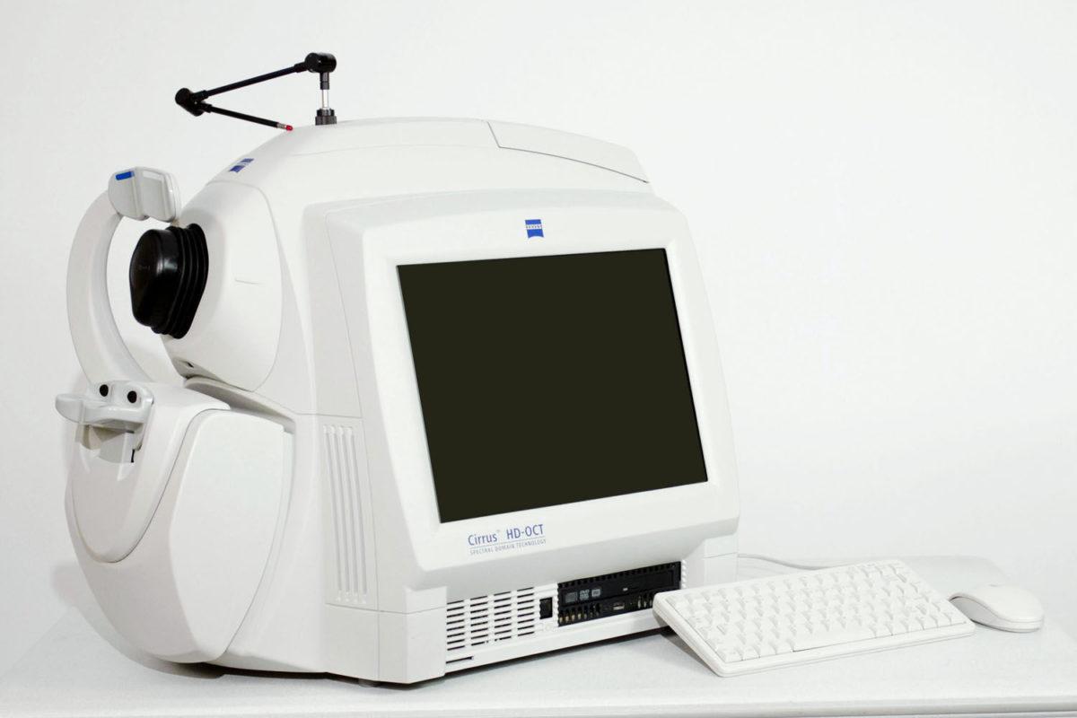 Оптическая когерентная томография ОКТ в клинике Зрение в Петербурге