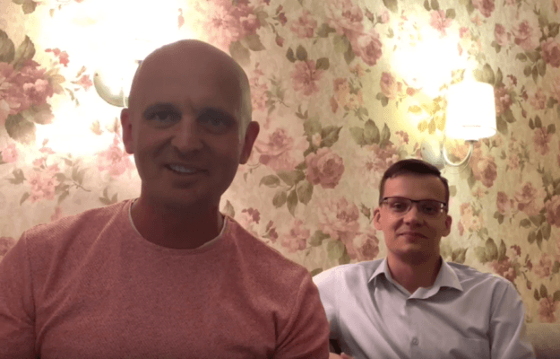 Вадим Бондарь и Глеб Арсланов детский врач-офтальмолог офтальмологический центр Зрение Санкт-Петербург