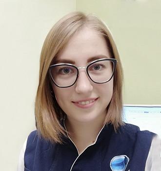 Истратова Алеся Алексеевна оптометрист клиника Зрение