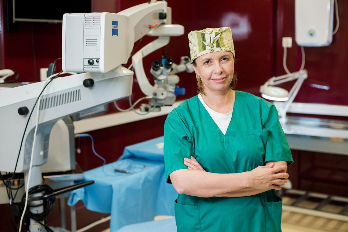 Майструк Юлия Владимировна хирург операция по катаракте отзывы клиника Зрение лечение глаз