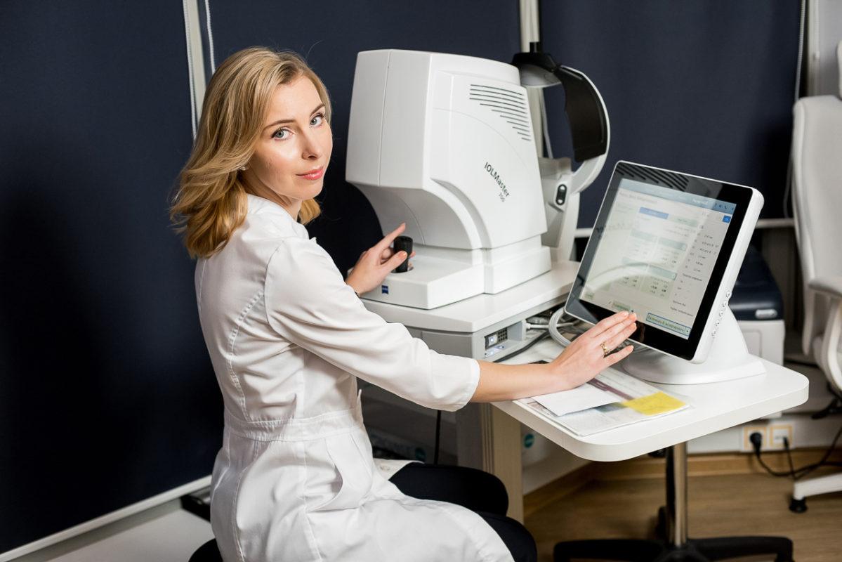 IOL Master 700 (ZEISS) в офтальмологическом центре зрение клиника петербурга