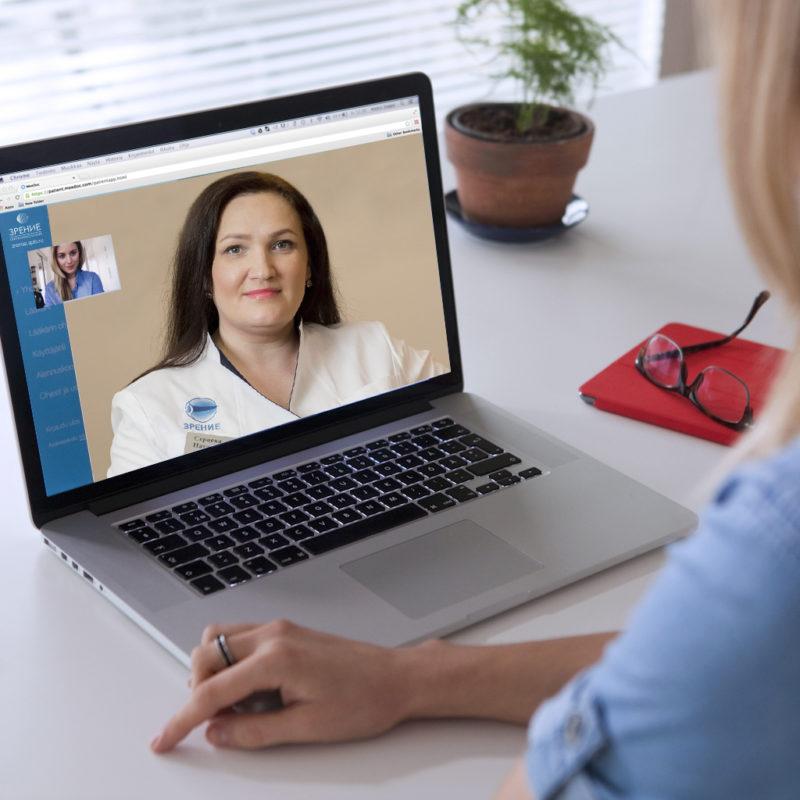 Онлайн консультация оптометриста