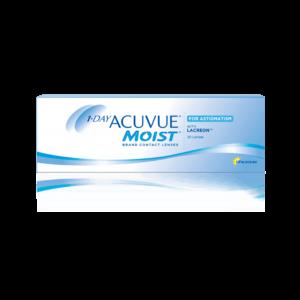 Однодневные контактные линзы Акувью Моист 11-DAY Acuvue Moist for Astigmatism оптика Зрение спб