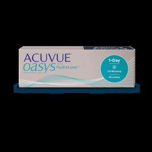 Однодневные контактные линзы Акувью Оазис 1-DAY Acuvue Oasys оптика Зрение спб