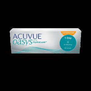 Однодневные контактные линзы Акувью Оазис 1-DAY Acuvue Oasys for Astigmatism оптика Зрение санкт-петербург