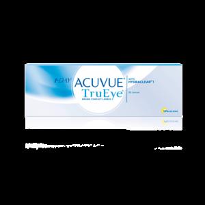 Однодневные контактные линзы Акувью Тру Ай 1-DAY Acuvue Tru Eye оптика Зрение санкт-петербург