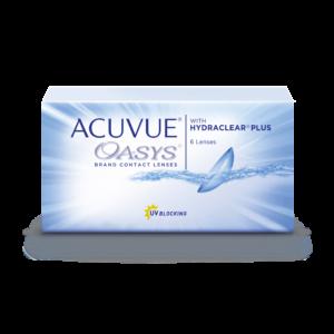 Контактные линзы упаковка Акувью Acuvue Oasys оптика Зрение спб
