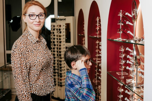 Подбор очков в клинике Зрение санкт петербур детям и взрослым