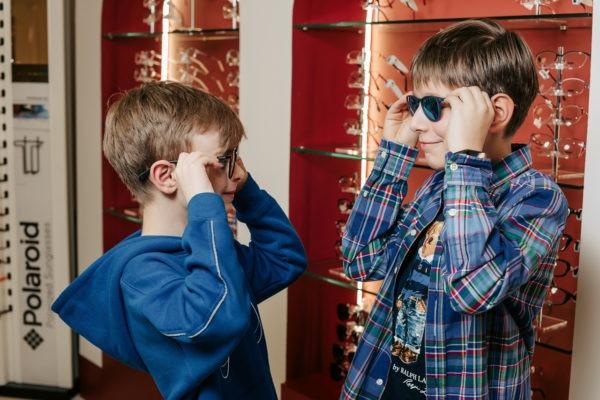 Детские очки Подбор очков в клинике Зрение санкт петербур детям и взрослым