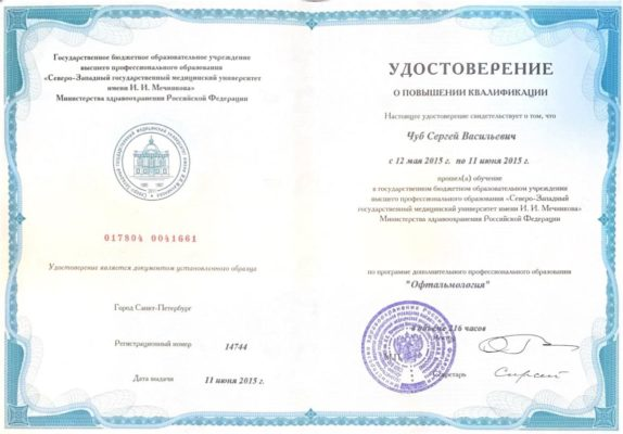 Чуб Сергей Васильевич