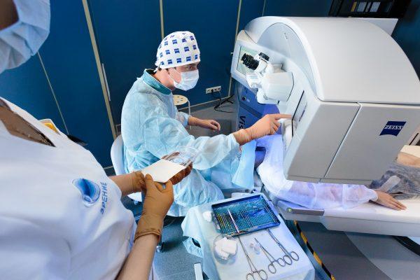 Операция в клинике Зрение лазерная коррекция Чураков Тимур Касимович Спб